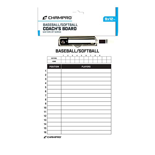 Champro Baseball/Softball Board (White, 12 x 9-Inch)