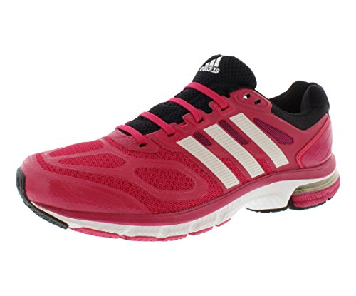adidas Running Womens Supernova Sequence 6 W Bahia Pink/Running White/Black Sneaker 9 B (M)
