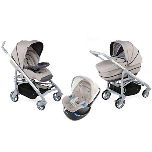Chicco 8058664129829 Trio Love Up BebeCare Poussette Cool Beige