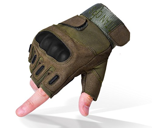 Titan OPS Hard Knuckle Army Shooting Gloves