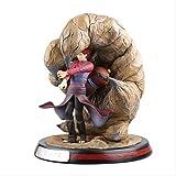 Zpong Naruto Desert Hand Sabaku No Gaara Figura De Acción Modelo De Anime 31Cm Estatua De PVC Juguet...