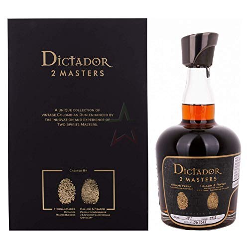 Ron Dictador 2 Masters Glenfarclas 1972 700ml