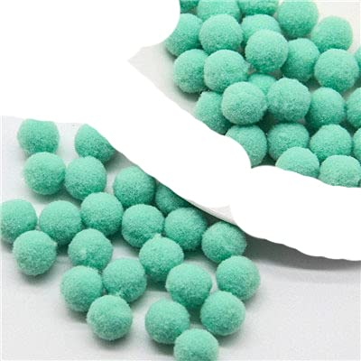 8/10/15/20/25 / 30mm Mini bolas de pompón mullido suave hecho a mano juguetes para niños decoración de boda pompones costura artesanía suministros-15m 09 150 Uds