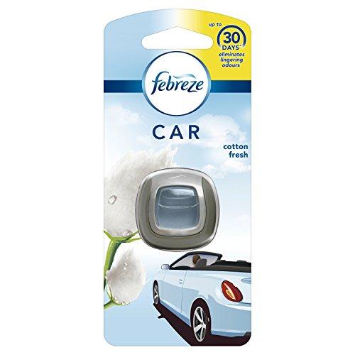 Febreze Auto-Lufterfrischer zum Anklippen, Starter-Set, 2 ml
