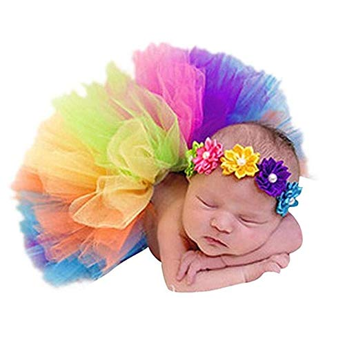 Top 10 rainbow tulle skirt baby for 2021