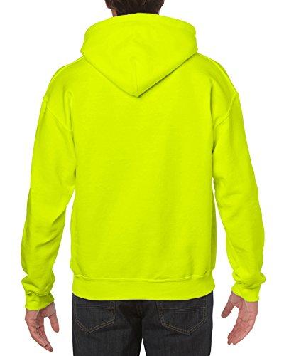 Gildan mens Heavy Blend Fleece Hooded Sweatshirt G18500 Shirt, Safety Green, XX-Large US