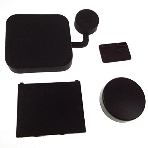 TOOGOO(R) Cubierta protectora de la tapa de la lente de la camara y cubierta de la caja para las camaras de GoPro HERO 3 + / HERO 4