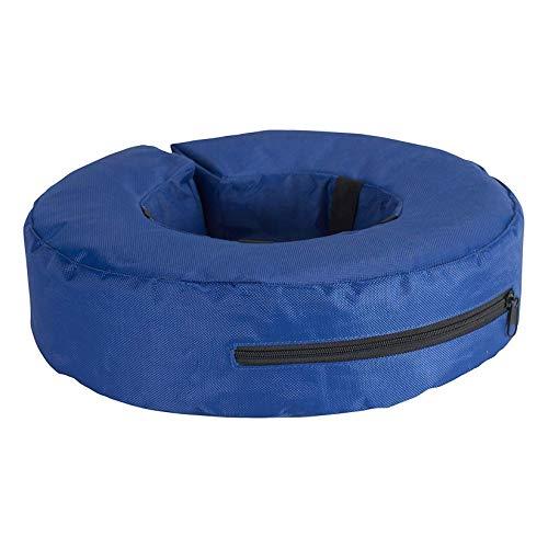 Buster - Collar hinchable (XL) (Azul)