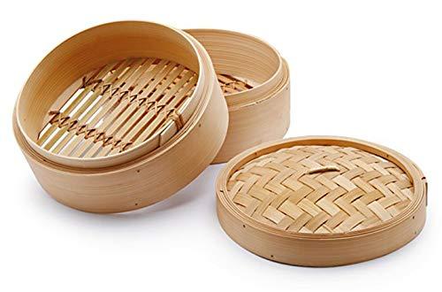 Chio Vaporera, Bambú, Beis, 25 cm, 3 Piezas