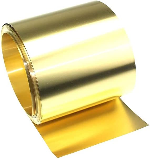 DSFHKUYB Brass Metal Thin Sheet Belt 100mm Foil Width Shim Challenge the lowest price of Japan ☆ Plate Ranking integrated 1st place
