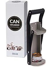 Trituradora de latas de Froster con abridor de botellas, montado en la pared, resistente, latas de trituración de hasta 500 ml (16 oz)