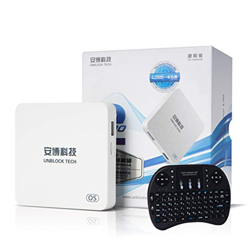 HOPE OVERSEAS 2019 unblock tech Model UBOX PRO2 i950 US Licensed Jailbreak Version Box with World Wide Certification