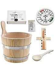 Sudorewell® Sauna Startset 1/Sauna Accessoires Set 1-7-teilig