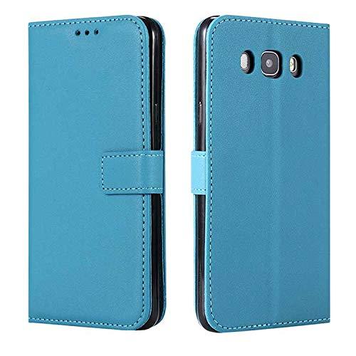 DENDICO - Funda protectora de piel ultrafina tipo cartera para Samsung Galaxy A3, con función atril y ranuras para tarjetas de crédito