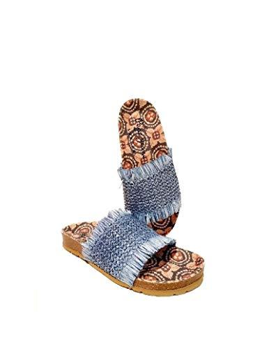 Sandalias Pepe Jeans Oban Lamu Azul Mujer 37