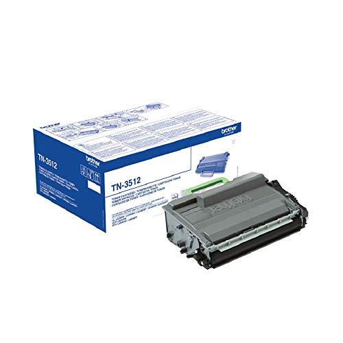 Brother Original Tonerkassette TN-3512 schwarz (für Brother HL-L6250DN, HL-L6300DW, HL-L6400DW,HL-L6400DWTT, DCP-L6600DW, MFC-L6900DW, MFC-L6800DW, MFC-L6800DWT)
