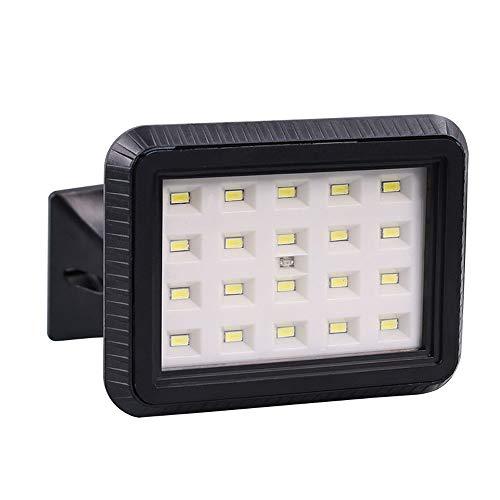 Luz Solar De La Seguridad Del LED, Reflector Al Aire Libre Del Sensor Del Movimiento, 6500LM 5000K, IP44 Impermeable, Carga Del USB, Para El Paso De Entrada, Patio, Patio, Garage