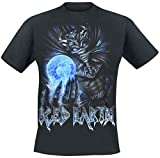 Iced Earth 30th Anniversary Camiseta Negro XL