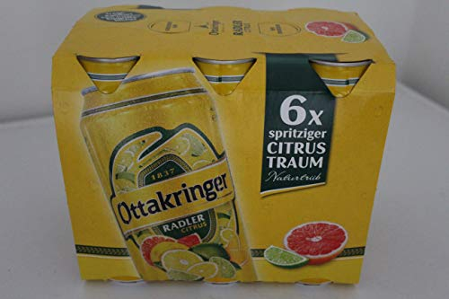 Ottakringer - Radler Citrus - Tray 24 x 0,50 l