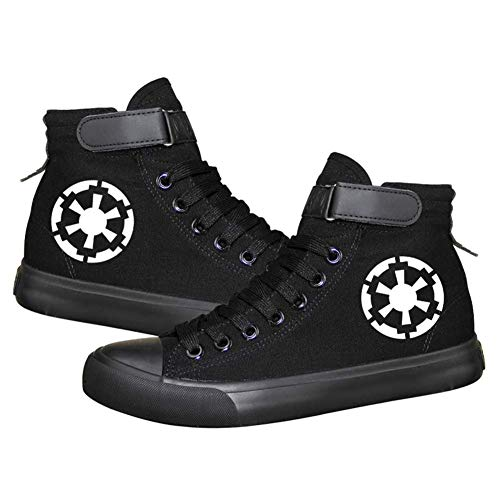 Darth Vader White Soldat Sith Empire Galactic Empire Cosplay Kostüm Schuhe Canvas Schuhe, (Bild 1), 38 EU