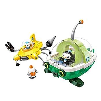 Octonauts Octopod Gup submarine Oct-Pod with GUP-C GUP-E GUP-D GUP-K GUP-I Children's Gift Brick Set