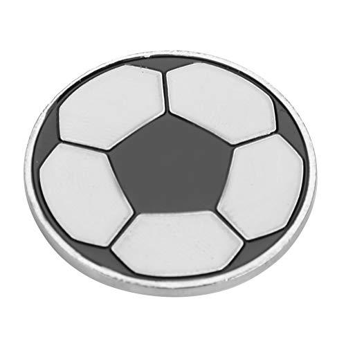VGEBY1 Moneta di Calcio Toss, Attrezzatura ausiliaria dei Giochi di Calcio del Giudice della Moneta di Vibrazione dell'arbitro di Calcio