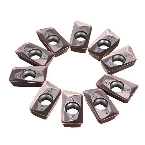 MASUNN 10 stks APMT1604PDER-M2 VP15TF 25R0.8 Carbide Inserts voor Molen Snijder Tool Turning Tool