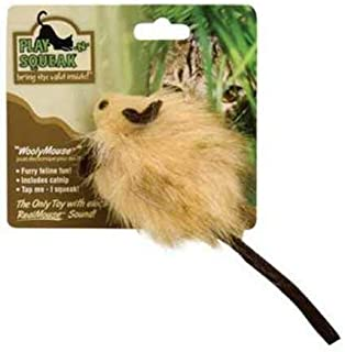 OurPets Play-N-Squeak RealBirds Fly Over Wand Interactive Cat Toy