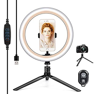 "10.2"" Ring Light with Stand  Phone Holder a..."