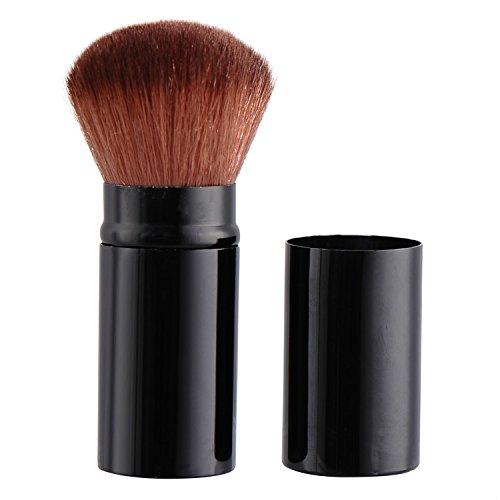 Professionnel Blush Pinceau Blush Rétractable Kabuki Pinceau de Maquillage, parfait pour le voyage
