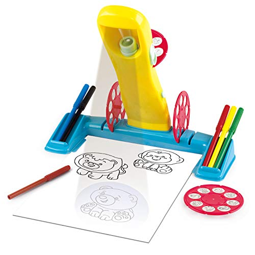 Kidoozie Trace and Color Studio, Art Playset for Children Ages 4 and Older