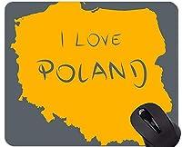 カスタマイズされたマウスパッド、ポーランドテーマOfficeマウスパッド