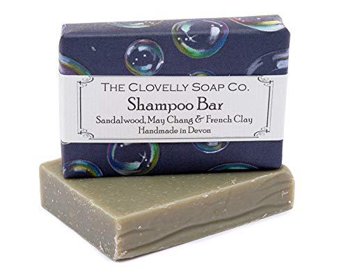 Clovelly Soap Co Natürliche handgemachte HJaarseife Sandelholz & May Chang für normales bis fettiges Haar 100g