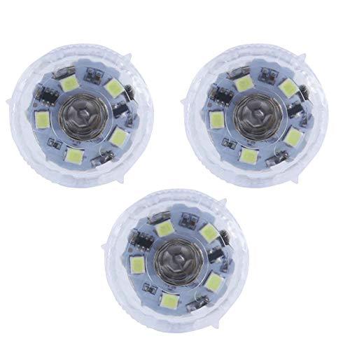 LED Warnleuchten Warnlicht Notlichter Nachtlicht tragbar Induktionslicht,Paste auf Autos/Fahrräder,Mini Taschenlampe für jeden dunklen Raum (3PC)