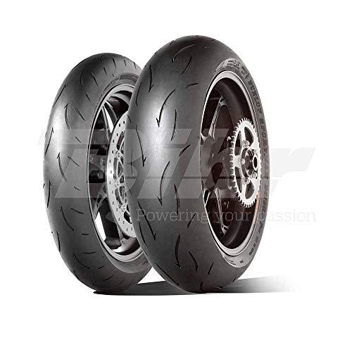 DUNLOP 190/55 ZR17 75W GP RACER D212 E TL -55/55/R17 75W - A/A/70dB - Moto Pneu