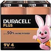 Duracell 9V Batterien, 4er Pack