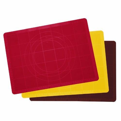 Tescoma 629384 Tovaglietta Stendipasta in Silicone, linea Delicia, 58 X 48 cm, colori assortiti