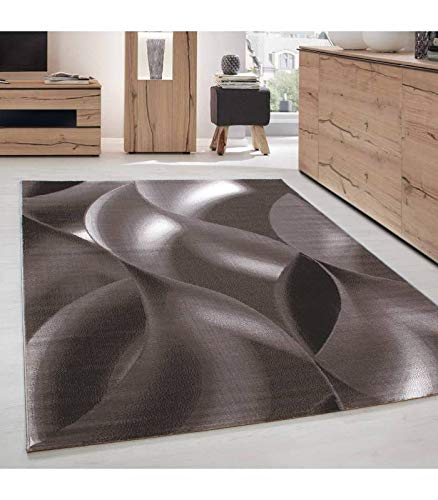 Carpettex Teppich Tapis Moderne de Salon Abstrait Ombre d