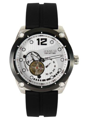 Lancaster Top Up Time automatico unisex orologio bianco