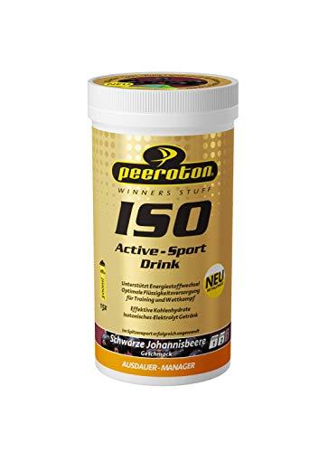 Peeroton ISO Active- Sport Drink schwarze Johannisbeere 1er Pack (1 x 300 g)