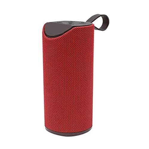 BLAUPUNKT- BLP3770-141 Tragbarer Lautsprecher, Bluetooth, 10 W, Rot