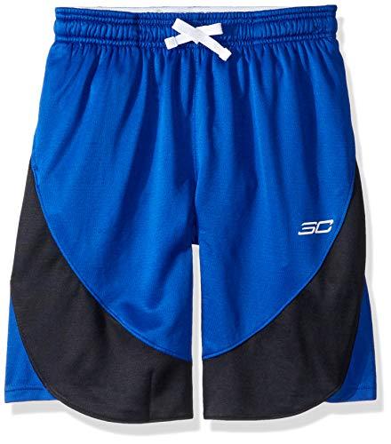 Under Armour Pantalones Cortos Sc30 para Chico, Niños, Pantalones Cortos para niños, 1343295, Azul Cobalto, Extra-Small