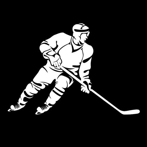 2Pcs/Autotattoos Sexy Kreatives Auto Styling Eishockey Stylische Autoaufkleber - 19 Cm * 12,3 Cm