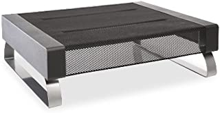 Rolodex 82411 Wire Mesh Monitor Stand, Supports up to 35 lbs - 14.125 in. X 11.875 in.