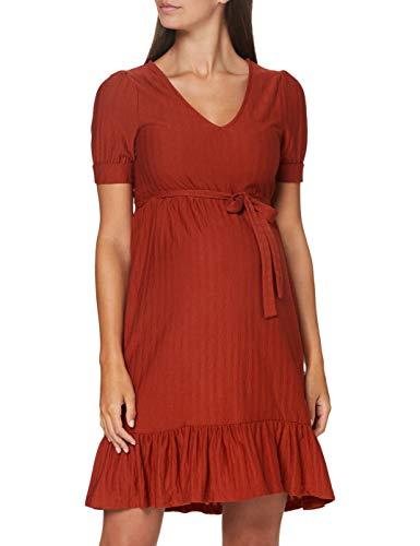 MAMALICIOUS Damen MLKADI 2/4 Jersey Short Dress A. Kleid, Bossa Nova, L