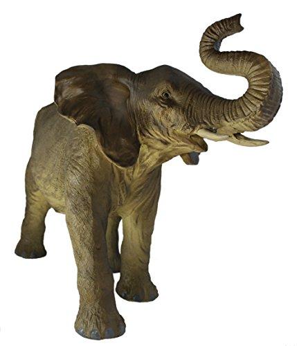 colourliving Elefant Figur Jambo 55 cm GROß Elefantenfigur Gartenfigur Elefant Dekoration