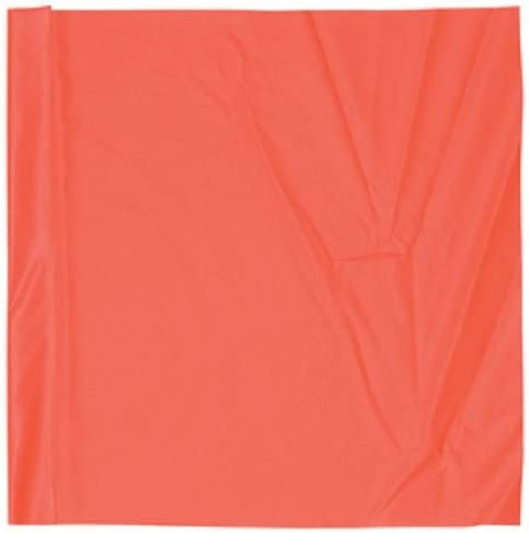 Safety Flag SF24 24-Inch Vinyl Safety Flags, Red/Orange