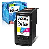 HavaTek Remanufactured Ink Cartridge Replacement for Canon CL-241XL 241XL (1 Color) Used for Pixma MG3600 MG3222 MG3220 MG3620 MX432 MG3122 TS5120 MG2120 MX452 MG2220 MG3120 MX522 MG4220 MX472 Printer