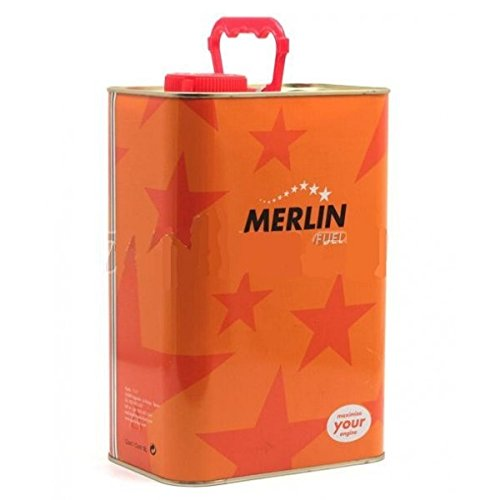 Merlin Outletdelocio. Combustible para Coches de radiocontrol de Gasolina Expert 25% Nitrometano. Lata de 5 litros