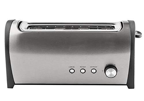 Alfa 22649 - Tostadora inox 2pc.grande1000w.kuken